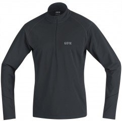 GORE POLO R3 THERMO 1/2 ZIP NOIR