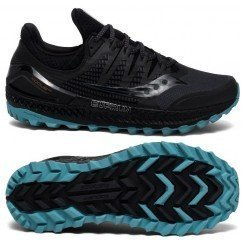 chaussures de trail running pour hommes saucony xodus iso 3 s20449-3 grey / black