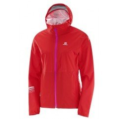 SALOMON Jacket LIGHTNING WP JKT W Flame Scarlet L39270700