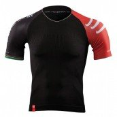 COMPRESSPORT TEE SHIRT PRO RACING TRIATHLON NOIR
