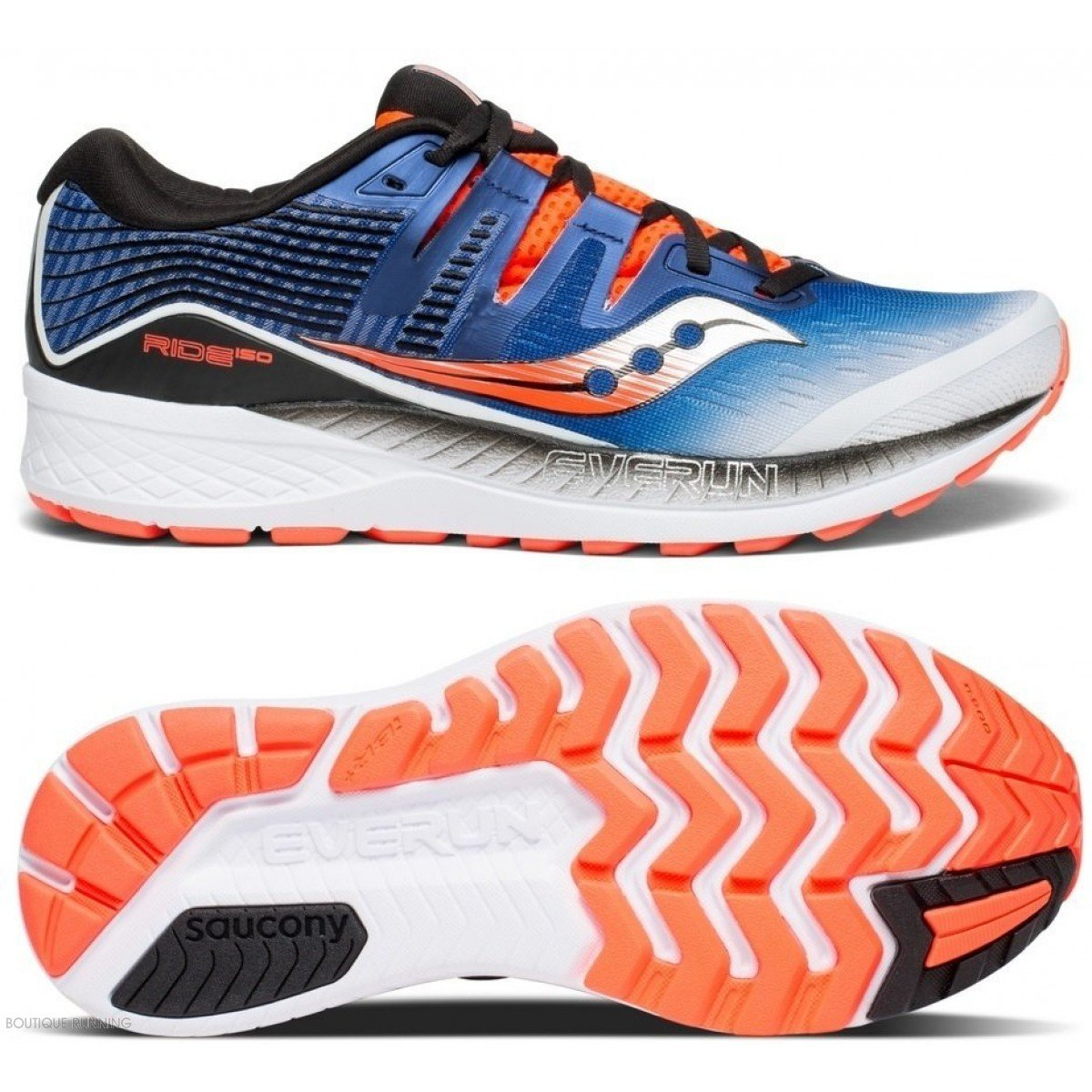 Saucony S20444 De Running Ride Iso 35 Hommes Pour Chaussures wn08OPk