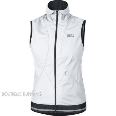 W GORE GILET BLANC AIR 2.0 WINDSTOPPER