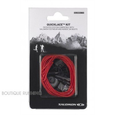 SALOMON KIT LACETS DE RECHANGES ROUGE