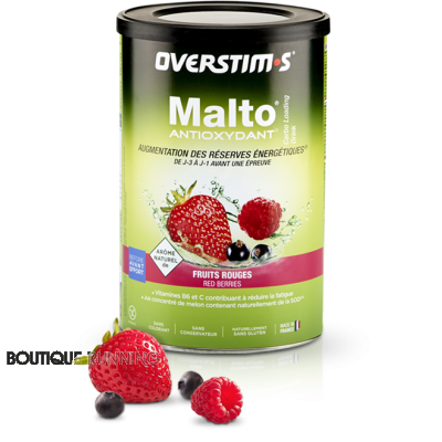 OVERSTIM'S MALTO ANTIOXYDANT FRUITS ROUGES