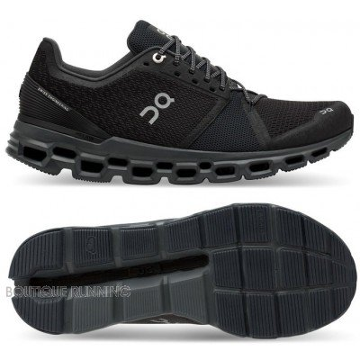 chaussure de running pour hommes on running cloudstratus black shadow 29.99845