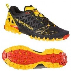 chaussure de trail running La Sportiva bushido black / yellow 36s999100
