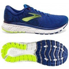 chaussure de running brooks glycerin 16 pour femme 1202781B494 navy/coral/white