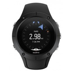 montre gps et cardiofrequencemetre tactile suunto spartan trainer hr black