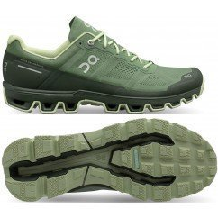 chaussure de trail running pour hommes on running cloudventure 22.99955 reseda & jungle